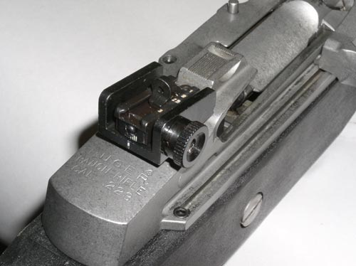 Milled Rear Sight for Ranch Rifles
