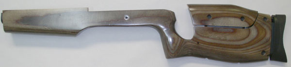 Adjustable Target stock Brown laminate